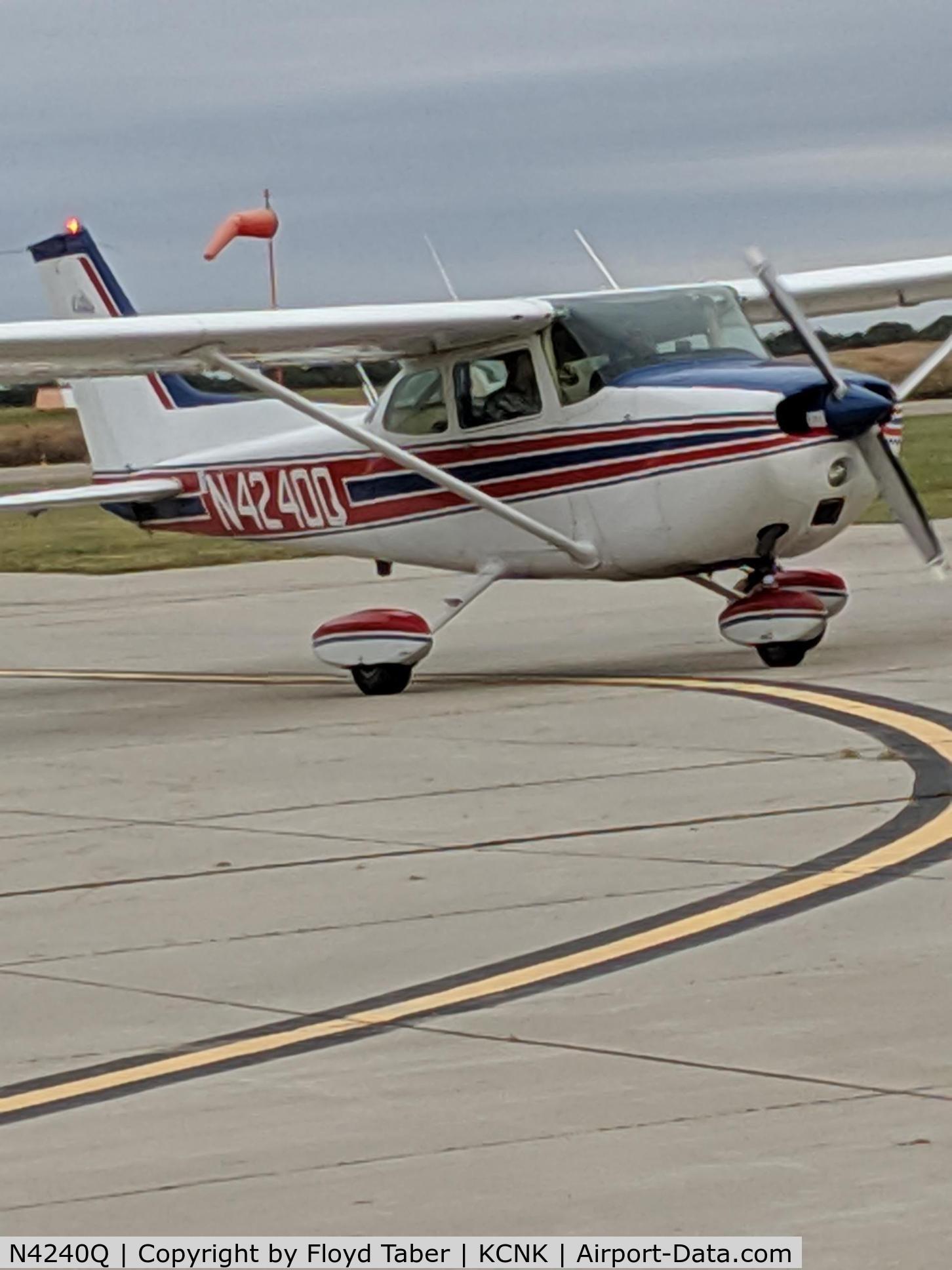 N4240Q, 1971 Cessna 172L Skyhawk C/N 17260140, Kansas Air Tour at Blosser Municipal Airport