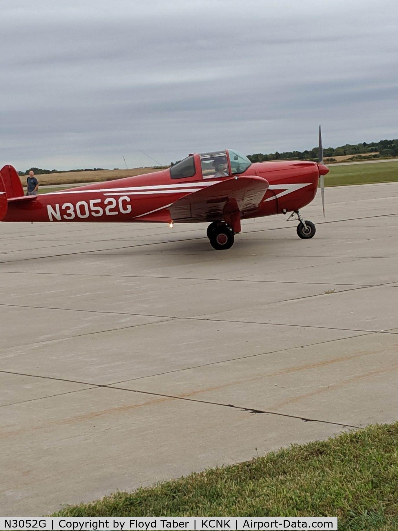 N3052G, 1961 Forney F-1A Aircoupe C/N 5755, The Kansas Air Tour 2019