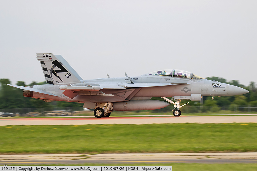 169125, Boeing EA-18G Growler C/N G-116, EA-18G Growler 169125 SD-525 from VX-23