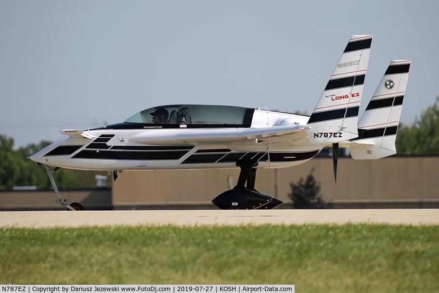 N787EZ, 1985 Rutan Long-EZ C/N 1217, Rutan Long-EZ  C/N 1217, N787EZ