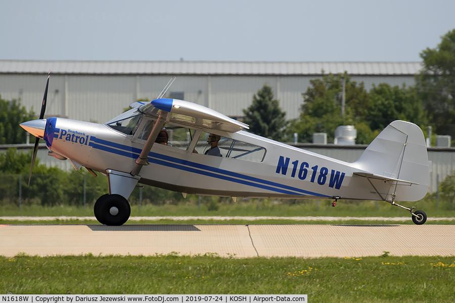 N1618W, Bearhawk Patrol C/N 11P-49P/50P-P267, Patrol  C/N 11P-49P/50P-P267 , N1618W