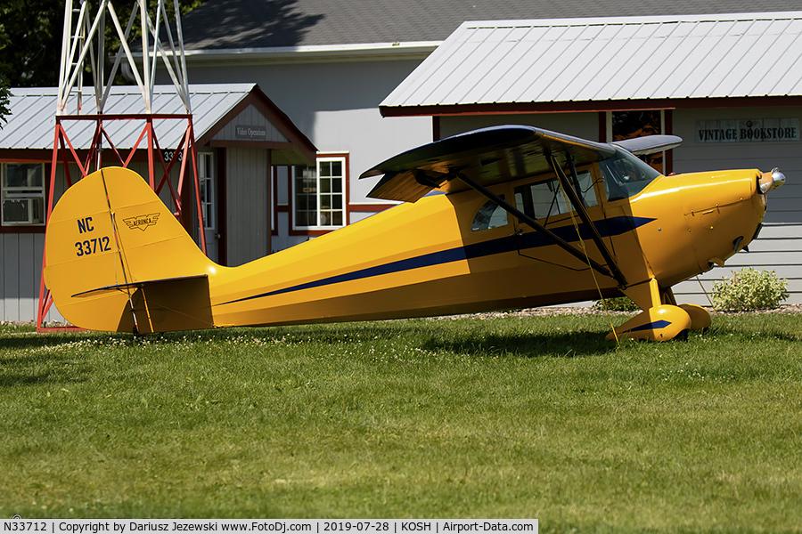 N33712, 1941 Aeronca 65-CA Super Chief C/N CA12971, Aeronca 65C Chief  C/N CA12971, NC33712