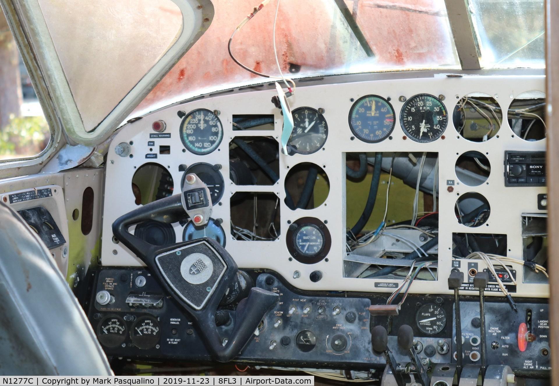 N1277C, 1961 Beech 65 C/N LC-114, Beech 65