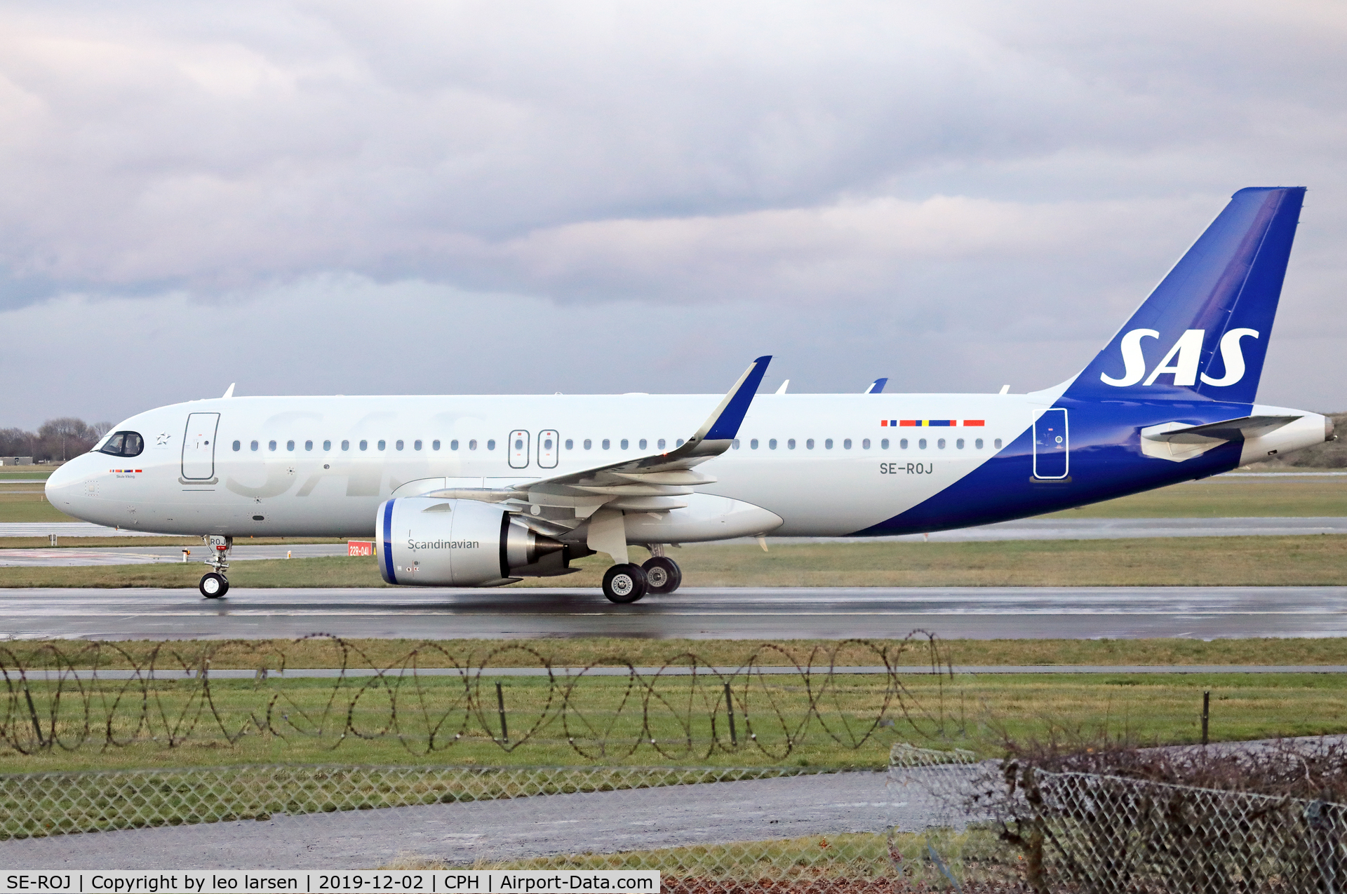 SE-ROJ, 2019 Airbus A320-251NEO C/N 9312, Copenhagen 2.12.2019