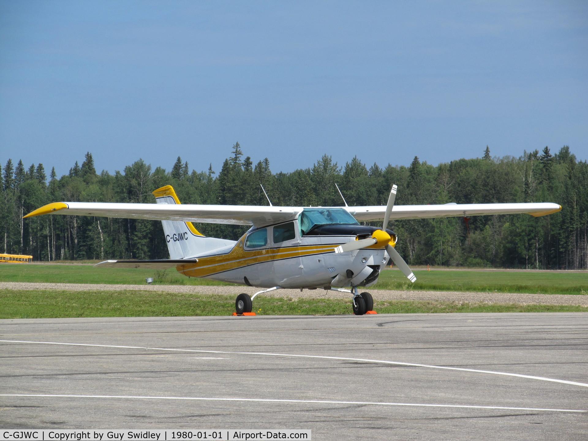 C-GJWC, 1974 Cessna T210L Turbo Centurion C/N 21060438, Cessna T210L visiting the 2012 Hometown Heroes Airshow, Whitecourt, Alberta.