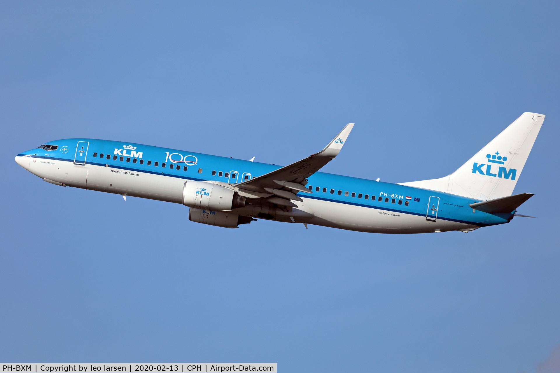 PH-BXM, 2000 Boeing 737-8K2 C/N 30355, Copenhagen 13.2.2020