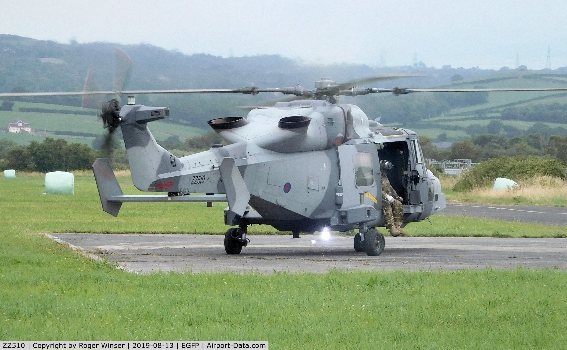 ZZ510, AgustaWestland AW-159 Wildcat AH.1 C/N 514, Visiting Army Air Corps Wildcat.