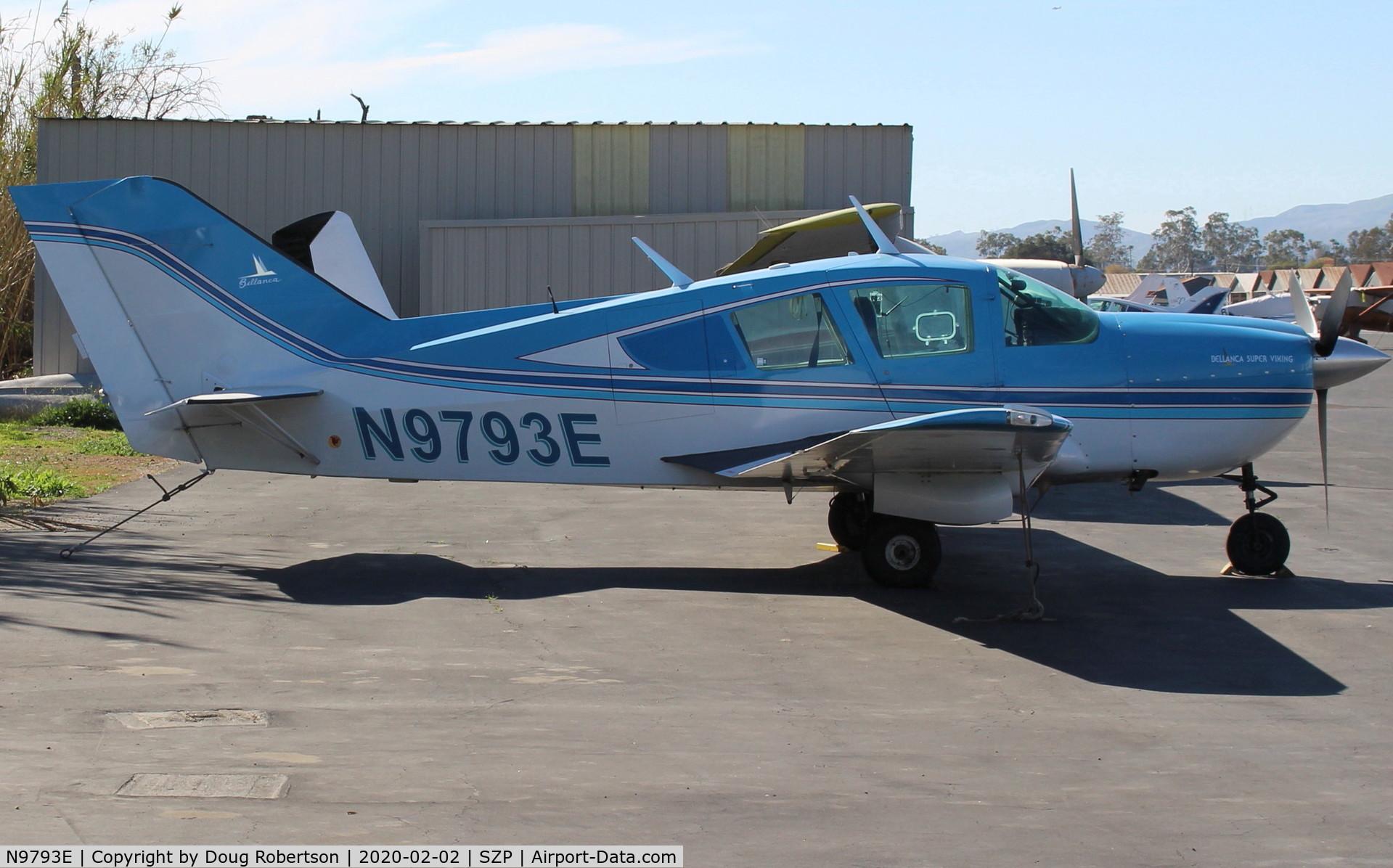 N9793E, 1975 Bellanca 17-30A Viking C/N 75-30794, 1975 Bellanca 17-30A SUPER VIKING, Continental IO-520 300 Hp, 1,500 hour TBO