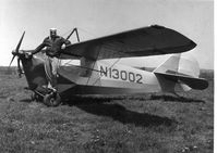 N13002 - 1932 Aeronca C-3 at Warrington airport - by Victor White