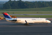 N883AS @ TRI - Candler 776 taxing to runway 5 for departure back to Atlanta