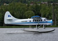 N1018B @ HOMER BELU - Landing after performing a pleasure flight. - by Keith D Burton