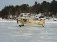 N1502A @ B18 - On the Ice at Alton Bay, NH.  (Ice Port) - by Friend
