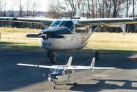 N902A @ EZF - 68-6872 with quarter scale RC model by Bill Schultze
