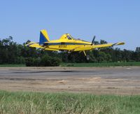 N5119G @ 69CL - Growers Air Service 1997 Air Tractor AT-502B landing during rice seeding flights