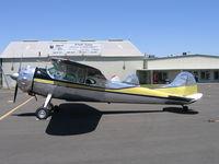 N1500D @ MCE - Lee Maxson's 1951 Cessna 190 at Merced, CA