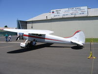 N190 @ MCE - Don Holley's 1952 Cessna 190 at Merced,CA