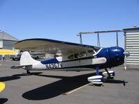 N4357V @ MCE - Steven Spinelli's 1948 Cessna 195 at Merced,CA