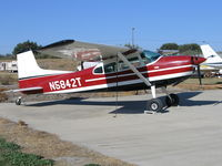 N5842T @ 9CL9 - 1964 Cessna 185C at Spezia Airport, Walnut Grove, CA - by Steve Nation