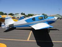 N74431 @ MCE - 1947 Bellanca 14-13-2 at Merced, CA