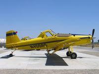 N4556S @ 2O6 - Thiel Air Care Air Tractor AT-502 as sprayer at Chowchilla, CA