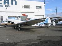 N74362 @ HWD - 1947 Bellanca 14-13-2 at Hayward, CA