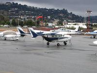 N11WS @ SQL - Frank Frauenhoff 1972 Cessna T337G at San Carlos, CA - by Steve Nation