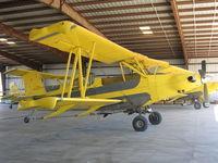 N83110 @ CL23 - Chuck Jones Flying Service 1980 Schweizer G-164D Ag-Cat rigged as sprayer at their Biggs, CA base