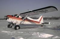 C-GAZJ @ YVP - Johnny May's DHC-2 at Kuujjuaq, northern Quebec (former Ft. Chimo) - by Mo Herrmann