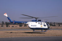 ZS-RAW @ HLA - Police Helicopter at Johannesburg/Lanseria - by Mo Herrmann