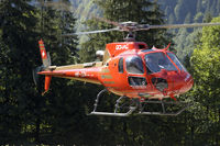HB-ZDV @ LSGK - BOHAG Helicopter Bell at Gsteigwiler/Switzerland - by Mo Herrmann