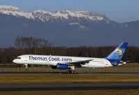 G-FCLK @ GVA - Thomas Cook at Geneva, for winter charter flights - by Mo Herrmann