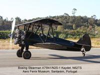 N62TS @ LPSR - Stearman N62TS in Santarem airfield, Portugal - September/2005 - by Aero Fenix Museum