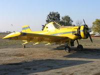 N8570S - Spain Air 1978 Air Tractor AT-301 rigged for dusting near South Dos Palos, CA (Fleet #2)