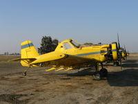 N2367C - Spain Air 1981 Air Tractor AT-301 rigged for dusting near South Dos Palos, CA (Fleet #1)