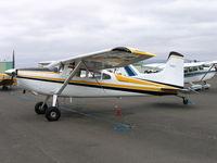 N185FT @ DVO - 1977 Cessna 185F at Gnoss Field, CA