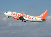 G-EZYI @ BRS - easyJet Boeing 737 (G-EZYI) taking off from Bristol Airport (England) in September 2003 - by Adrian Pingstone