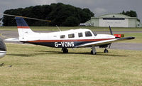 G-VONS - Piper PA-32R Turbo Saratoga (G-VONS), manufactured in 2000, at Kemble Airfield, Gloucestershire, England in June 2004.