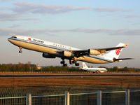 B-2388 @ PEK - Air China's Airbus A340 is taking off from Beijing Capital Airport (PEK) - by Yao Leilei
