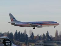 N925AN @ SEA - American Airlines Boeing 737 on short final at Seattle-Tacoma International Airport - by Andreas Mowinckel