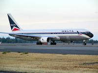 N133DN @ SEA - Delta Airlines Boeing 767 at Seattle-Tacoma International Airport - by Andreas Mowinckel