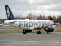 N919FR @ SEA - Frontier Airlines A319 at Seattle-Tacoma International Airport - by Andreas Mowinckel