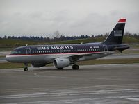 N744US @ SEA - US Airways A319 at Seattle-Tacoma International Airport - by Andreas Mowinckel