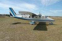 ZK-TZY @ NZNR - VULCAN AIR P68C - by Graeme Claridge