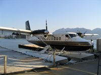 C-FMHR @ CXH - At Vancouver Coal Harbour, just before a trip to Victoria - by Micha Lueck
