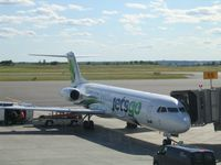 C-GKZA @ YOW - Jetsgo's ex-AA Fokker 100 - by Micha Lueck