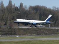 N756AF @ BFI - Vulcan Inc. B757 at Boeing Field