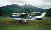 N6002J @ 1AK1 - N6002J at Crevice Creek Alaska - by John Seibert