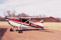 N2914C @ TX32 - 1954 Cessna 180 - by Jim Hardy