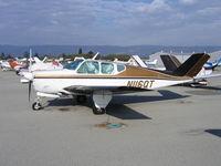 N116QT @ WVI - 1956 Beech H35 Bonanza at Watsonville, CA - by Steve Nation