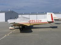 N9533V @ WVI - 1970 Mooney M10 at Watsonville, CA.  Destroyed March 25,2006 when acft impacted high terrain 20 miles E of Salinas, CA after pilot lost control in IFR conditions. New pilot owner flying acft from WVI to Plainview, TX fatally injured.